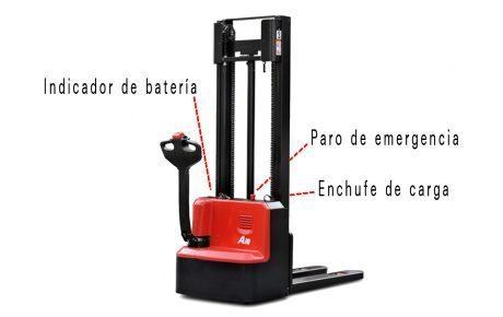apilador electrico 1000 kg