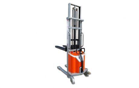 Apilador semieléctrico MSS de traslación manual y elevación eléctrica