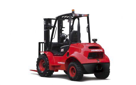 Carretilla todoterreno diesel Capacidad 2500 kgs